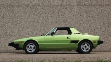 Fiat X1/9 1500 5-speed