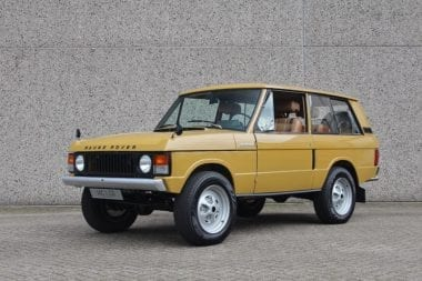 "Range Rover S1 Suffix A ""TopHat"""