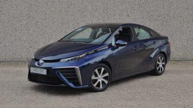 Toyota Mirai waterstof-elektrische aandrijving
